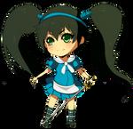 Chibi Alice by mzzyarts