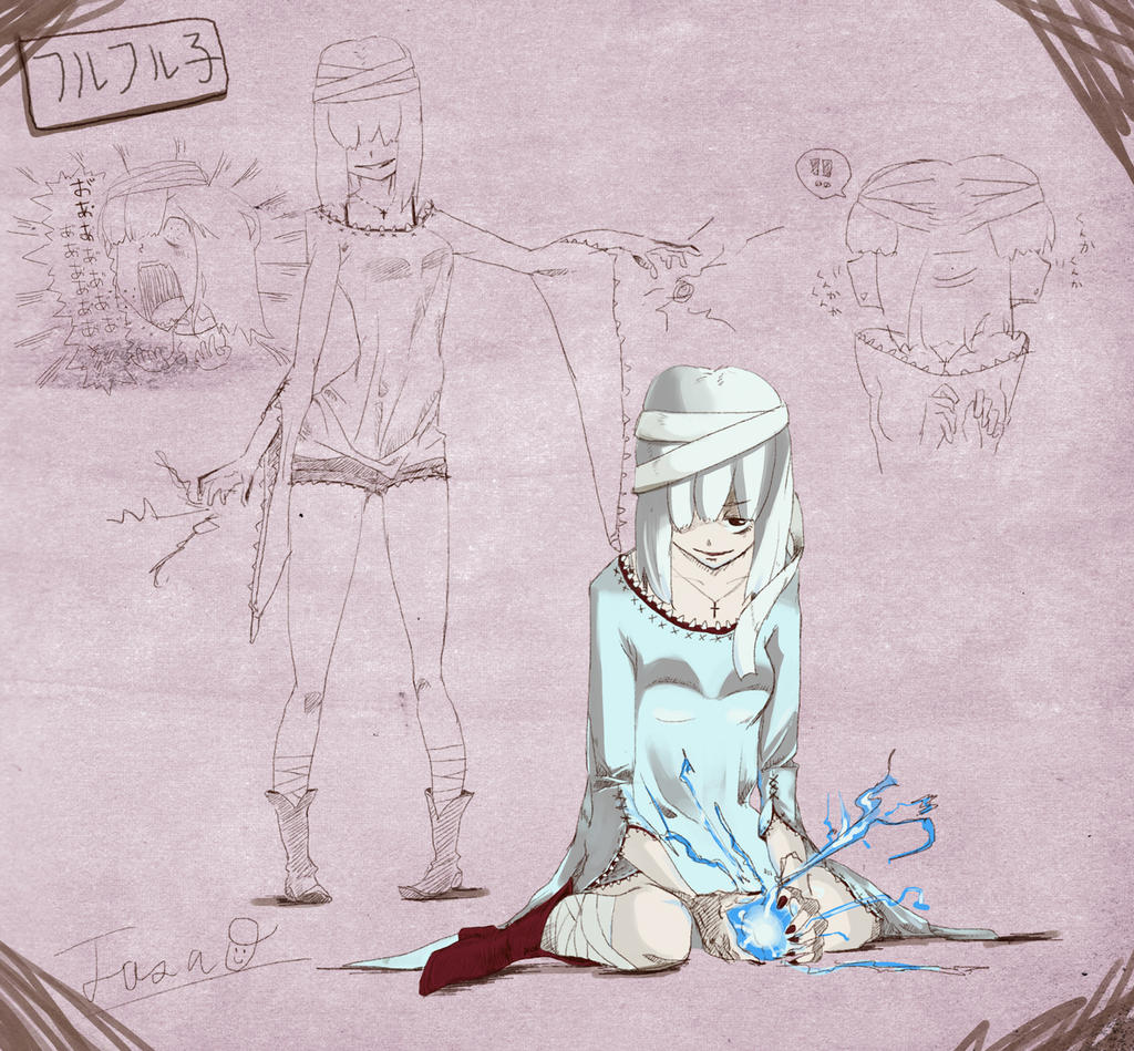 Khezu Girl[inspired by MonsterHunter] by TTTTTSO