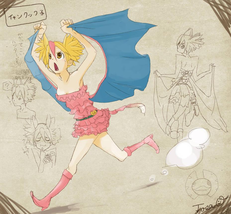 YanKutku Girl[inspired by MonsterHunter] by TTTTTSO