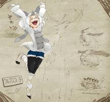 Lagombi Girl[inspired by MonsterHunter] by TTTTTSO