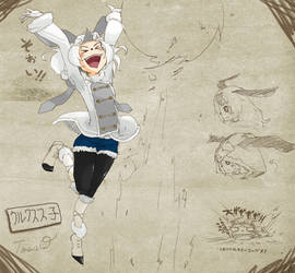 Lagombi Girl[inspired by MonsterHunter]