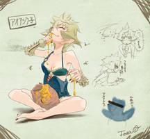 Arzuros Girl[inspired by MonsterHunter] by TTTTTSO