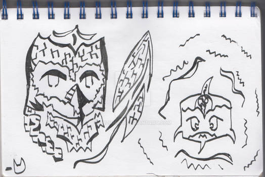 Calligrapy Doodles
