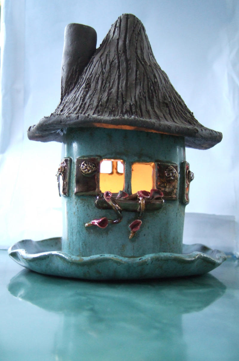 A House with a candle