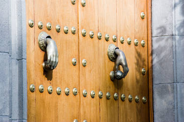 Hand as door openers by archaeopteryx-stocks