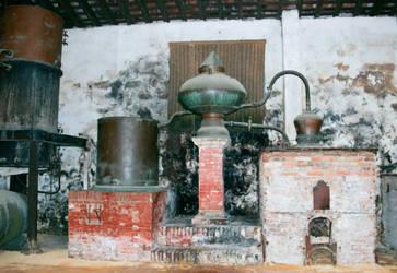 Old distillation system