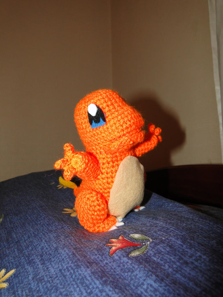 Charmander Amigurumi Free : charmander by chix75 on DeviantArt
