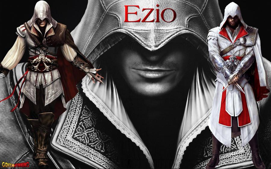 Assassins Creed Ezio Wallpaper 1 By Gokuwinning On Deviantart