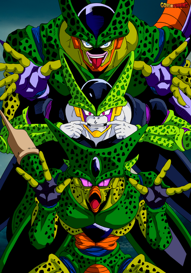 Cell - All Forms Poster Restoration by GokuWinning on ...