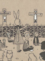 Children of the Corn on the Bob (Inktober 2016) by arttoinfinity