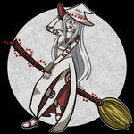 Witchy Shiro (Drawlloween Day 8) by arttoinfinity