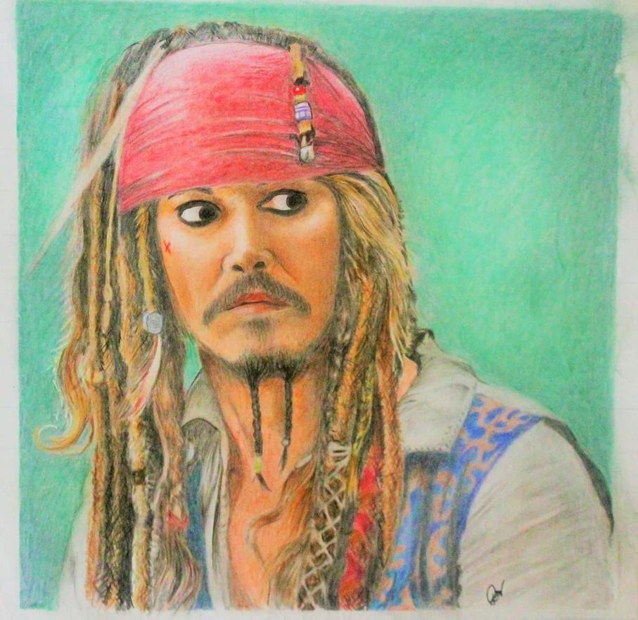Captain Jack Sparrow by JoephilResma