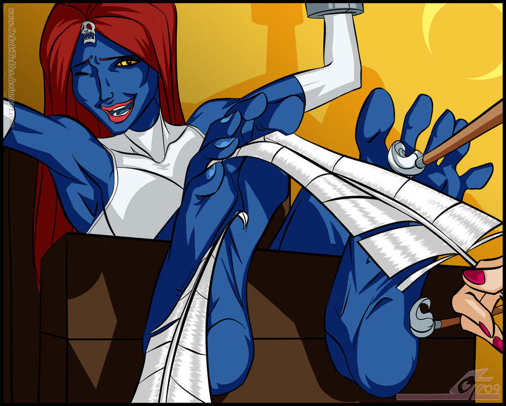 http://pre11.deviantart.net/7d57/th/pre/i/2012/035/2/e/mystique_tickled___x_men_by_oekakitickles-d4op2ql.jpg