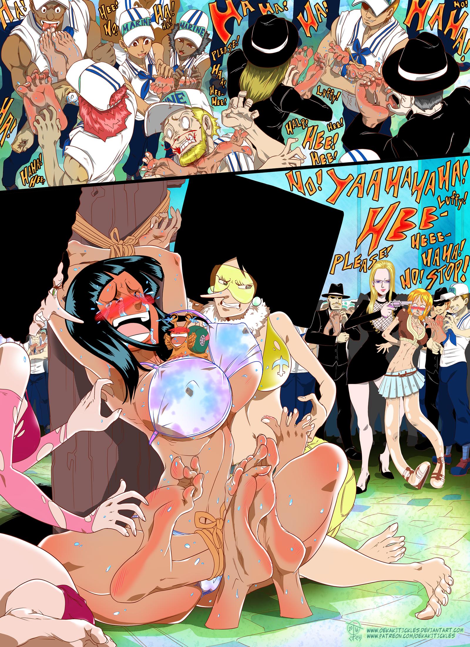 Anime Naked Tickle  Hot Girl Hd Wallpaper-9236