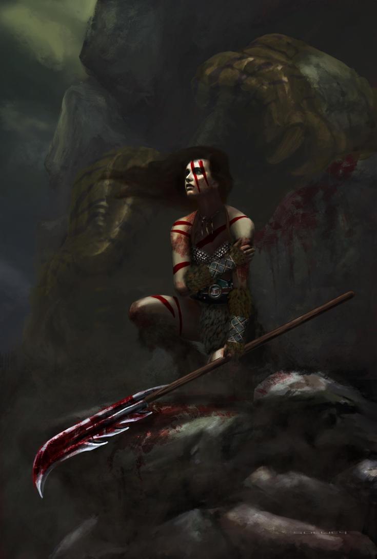 Barbarian girl by sdewey7