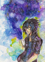 Noctis galaxy coffee by ChoFerry