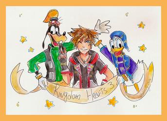 Kingdom Hearts 3 by ChoFerry