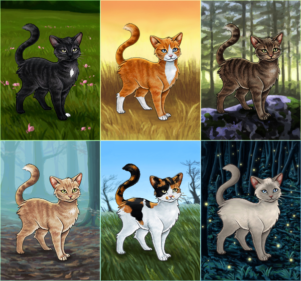Warrior Cats - Buildable Avatar Series by Wynnyelle on