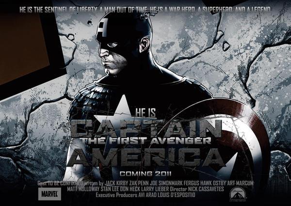 Captain America Poster 4 by NineteenPSG