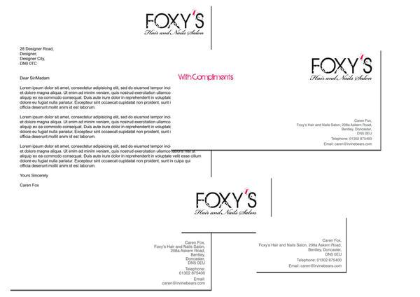 Foxy's Stationery by NineteenPSG