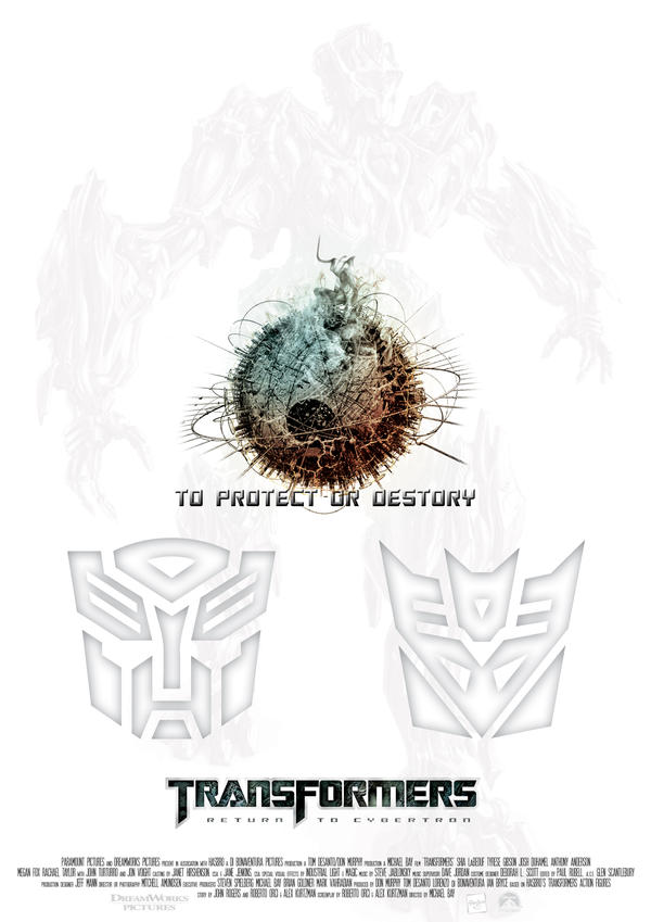 Transformers Poster 1 by NineteenPSG