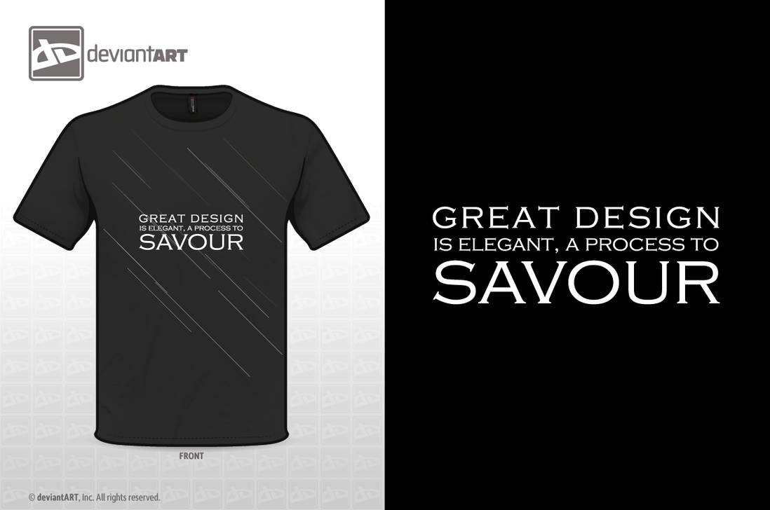 Great Design Is Elegant, A Process To Savour