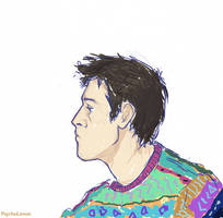 Cas with a ugly sweater by marmota-limon