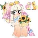 Fluttershy + Applejack fusion. open by kawaiighetto