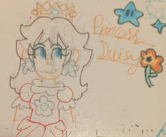 Scrap Doodle- Daisy with a Fine Liner