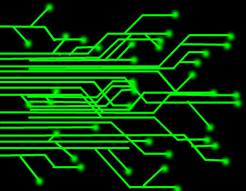green circuit board on black background by craftygirl563 on deviantart