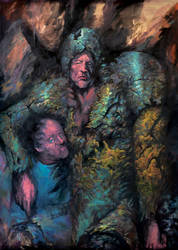 Oils on canvas 210x170cm_SCI FI