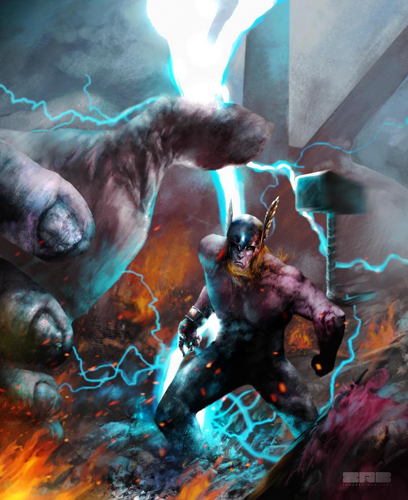 Thor by zabaras