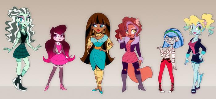 All Monster High Girls
