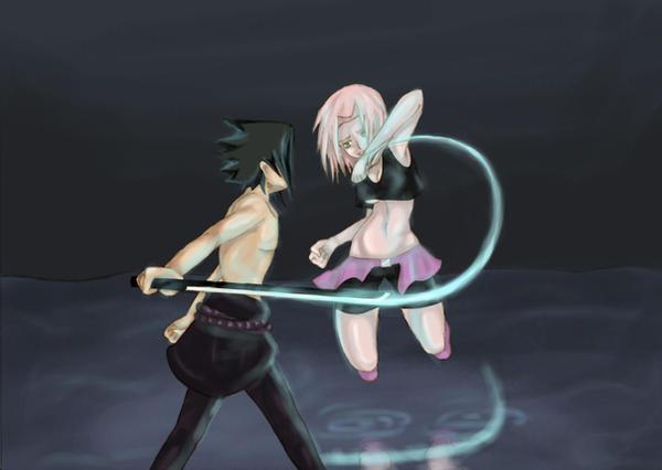 Sasuke vs sakura by cris chan on deviantart sasuke vs sakura by cris chan altavistaventures Gallery