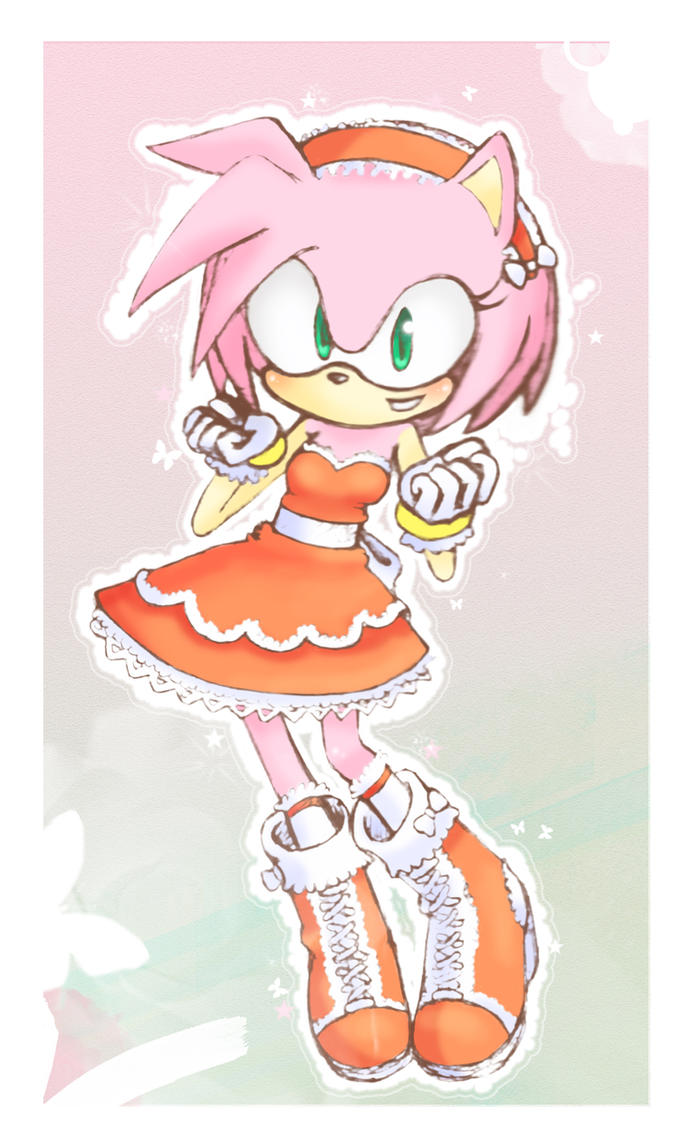Amy Rose by cris-chan