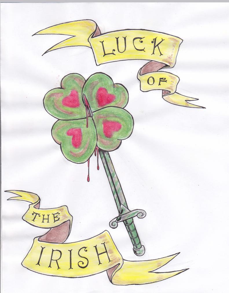 Luck of the irish tattoo design by jefftingley on deviantart for Luck of the irish tattoos