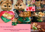Theodore and Eleanor Valentine's Day Collage