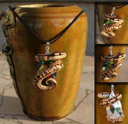 Ball Python Necklace