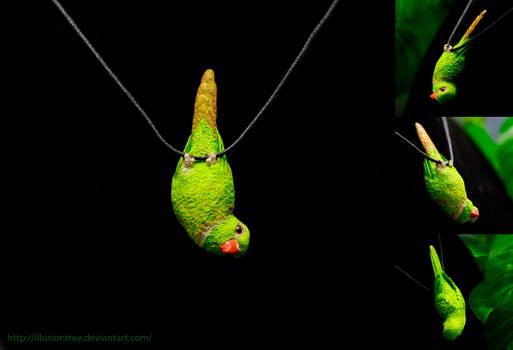Lorikeet Parrot Necklace