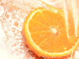 A Splash of Orange by MaverickMae