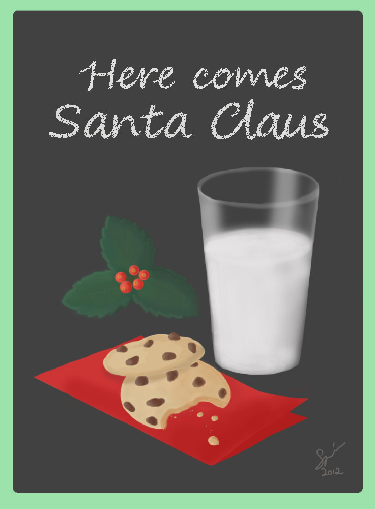 Cookies for Santa by MaverickMae