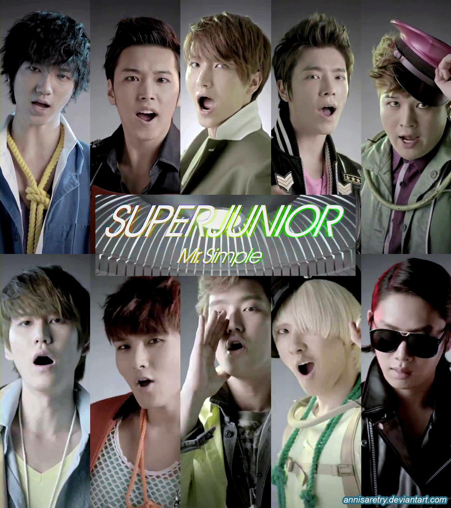 Super Junior Mr. Simple by annisaretry on DeviantArt