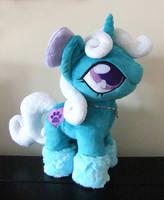 My very first OC Pony by Purple-Nebula-Plush