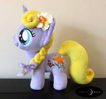 Adorable Handmade Pony for my niece Lilly by Purple-Nebula-Plush