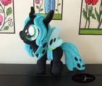 Queen Chrysalis Filly Plush - Adoption Ready!