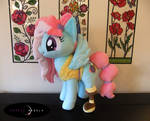 Handmade Kerfuffle Plush Pony - Adoption Ready!