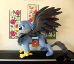 Handmade Plush Griffin