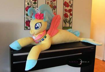 Life-Sized Princess Skystar Seapony Plush
