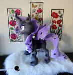 Changeling Pony Plush by PurpleNebulaStudios