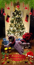 Happy Holidays from the Purple Nebula! by PurpleNebulaStudios